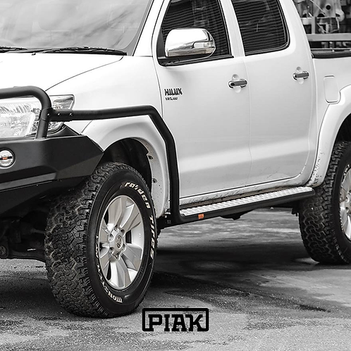 PIAK Side Steps & Rails - Toyota Hilux VIGO