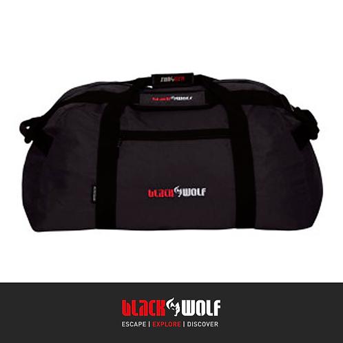 Black Wolf Duffel Bag