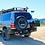 Thumbnail: Rock Armor Dual Spare Wheel Carrier - Toyota Land Cruiser 100/105 Series