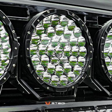 """STEDI LED Round Spot Lights - 8.5"""" TYPE-X ™ PRO"""