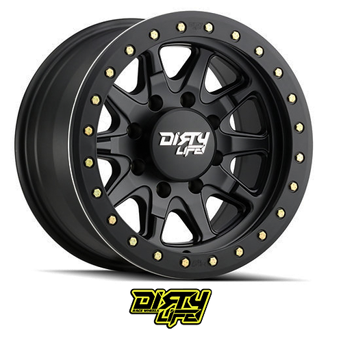 Dirty Life Wheels  - 9304 DT-2 Simulated Beadlock Ring (Matte Black)