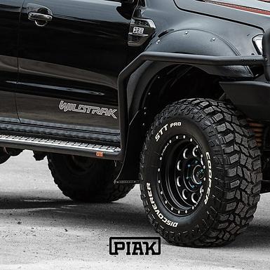 PIAK Side Steps & Rails - Ford Ranger (PX, PXII, PXIII) & Mazda BT-50