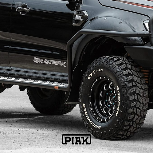 PIAK Side Steps & Rails - Ford Ranger (PX, PXII, PXIII) & Mazda BT-50