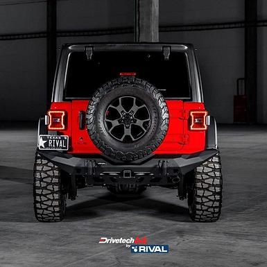 Drivetech 4x4 Rear Bumper by Rival - Jeep WranglerJK/JL