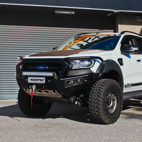 Afn Looped Bull Bar Ford Ranger Px Mkii Aussie Offroad