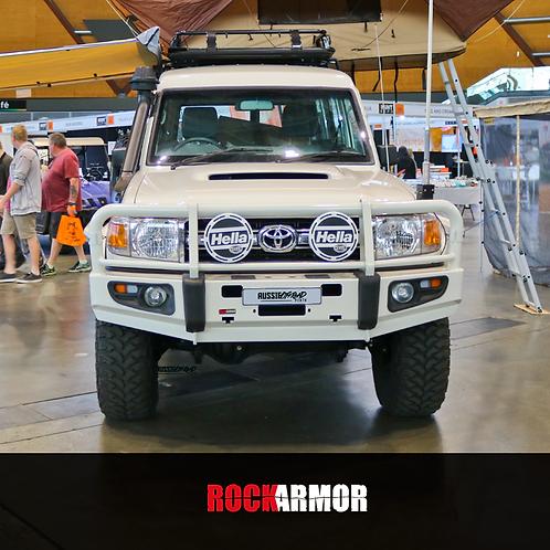 RockArmor's Premium Bull Bar - Toyota Land Cruiser 70 Series