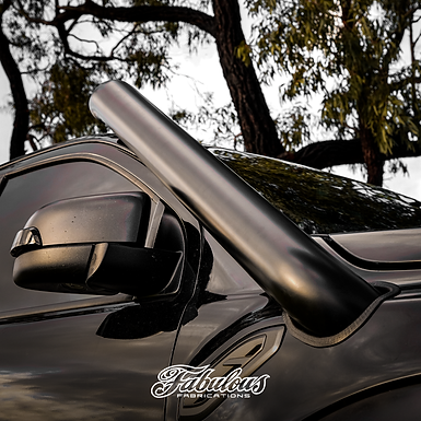 Fabulous Fabrications Stainless Snorkel & Alloy Airbox Kit - Ford Raptor