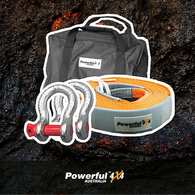 Powerful 4x4 Starter Recovery Kit