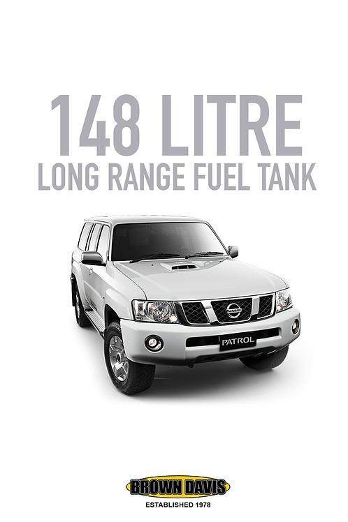 Brown Davis Long Range Fuel Tank - Nissan Patrol GQ/GU