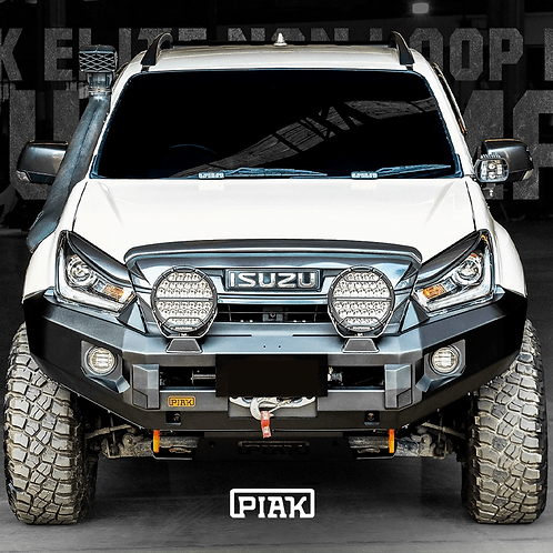 PIAK Non Loop Elite Winch bar - Isuzu D-MAX (2017 - 2020)