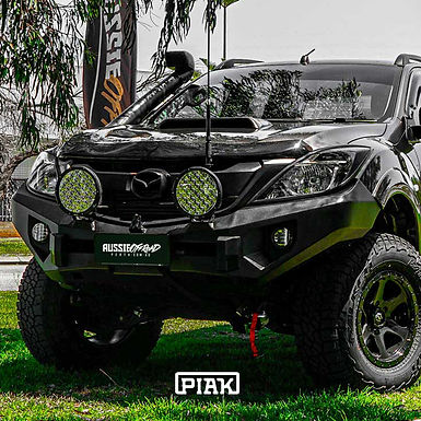 PIAK Non Loop Elite Winch Bar - Mazda BT-50 (2011+)