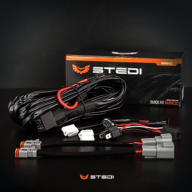 STEDI Dual Connector Plug & Play Smart Harness - High Bea