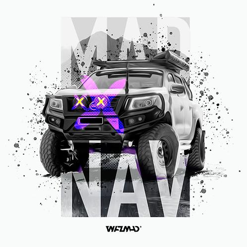 WAZMAD T-Shirt - MAD NAV