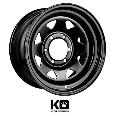 King Wheels  - Steal Terra (Gloss Black)