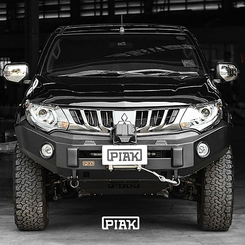 PIAK Non Looped Premium Winch bar - Mitsubishi Triton MQ