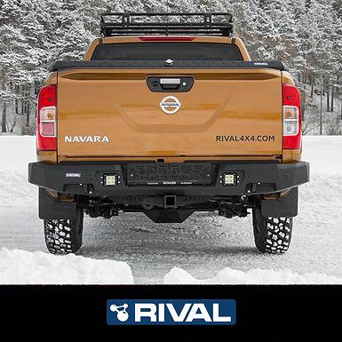 Drivetech 4x4 Rear Bumper by Rival - Nissan Navara NP300