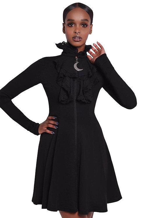 KILLSTAR Claire Voyant Collar Dress