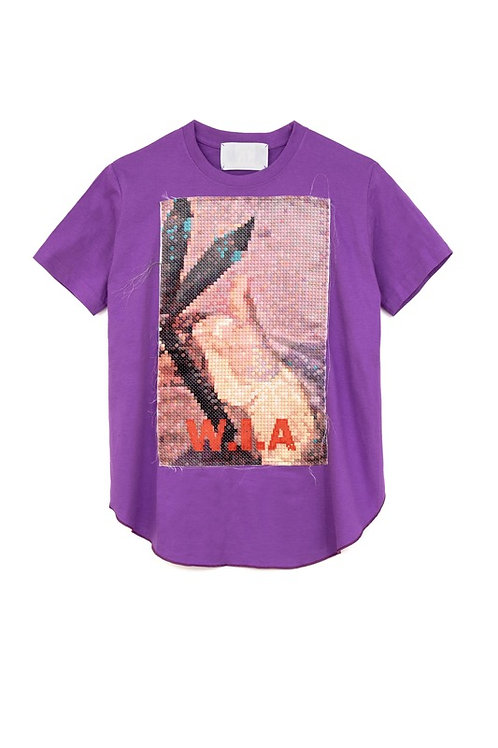 W.I.A COLLECTIONS WEAPON ASIMETRIC T-SHIRT