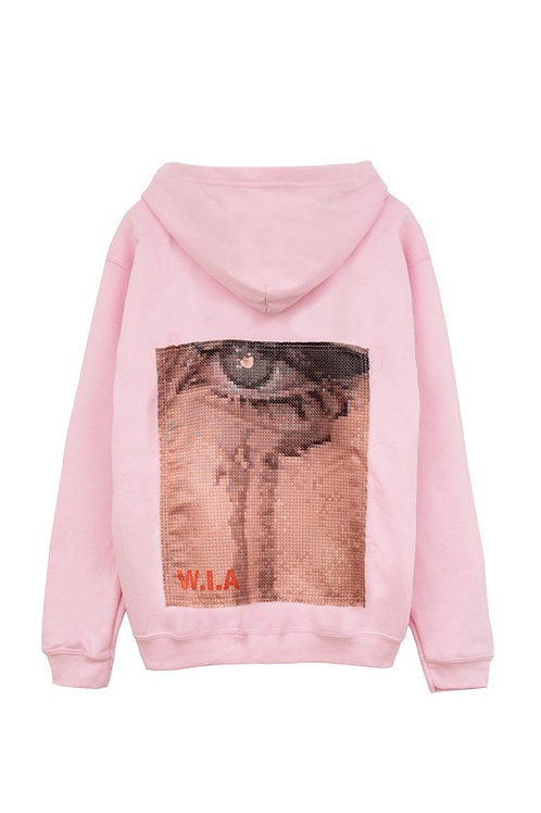 W.I.A COLLECTIONS EMOTIONAL HOODIE JACKET