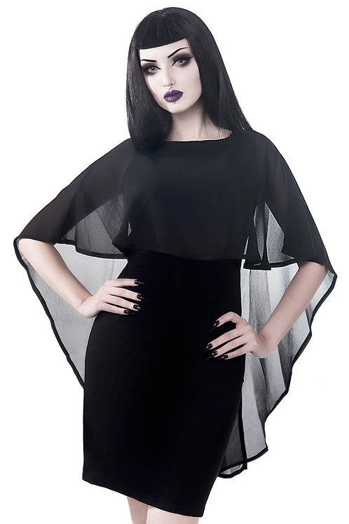 KILLSTAR Lennox Cape Dress