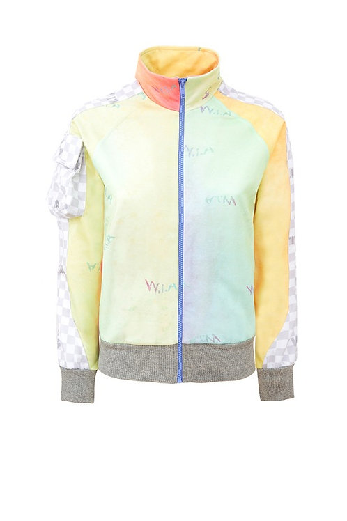 W.I.A COLLECTIONS CLOUD ZIP JACKET