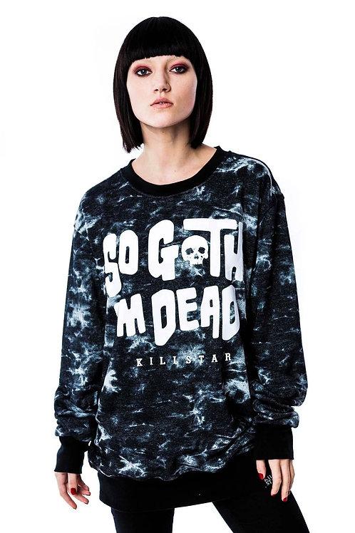 KILLSTAR So Goth Sweatshirt [TIEDYE]