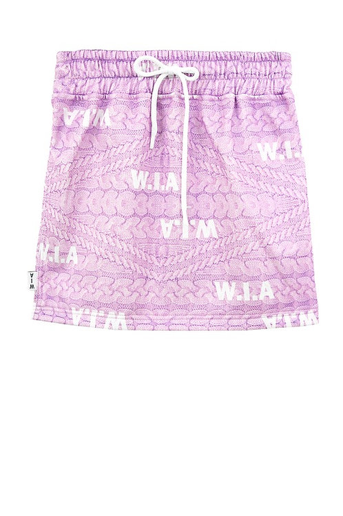 W.I.A COLLECTIONS FAKE SKIRT