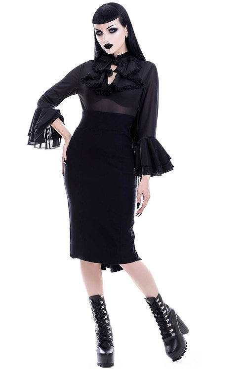 KILLSTAR Glamour Ghoul Pencil Dress