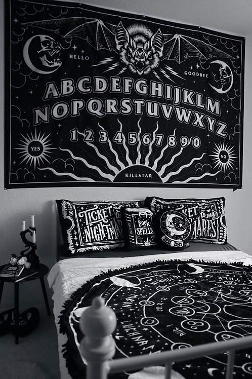 KILLSTAR SPIRIT BOARD TAPESTRY