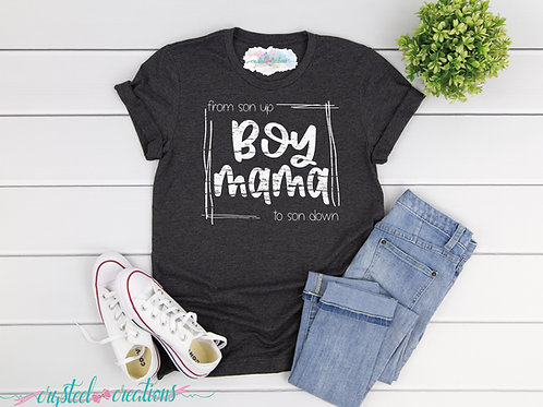 Boy Mama Short-Sleeve Unisex T-Shirt