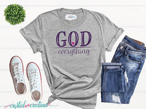 God Everything Short-Sleeve Unisex T-Shirt