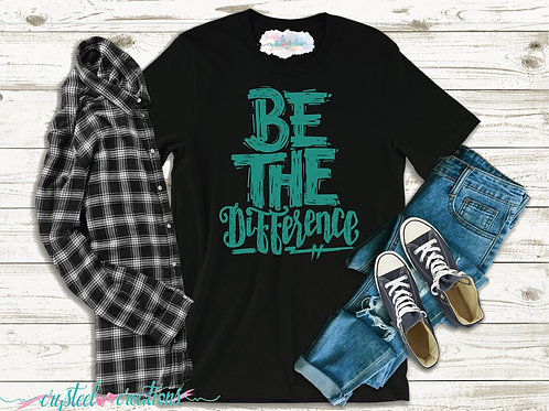 Be the Difference Short-Sleeve Unisex T-Shirt