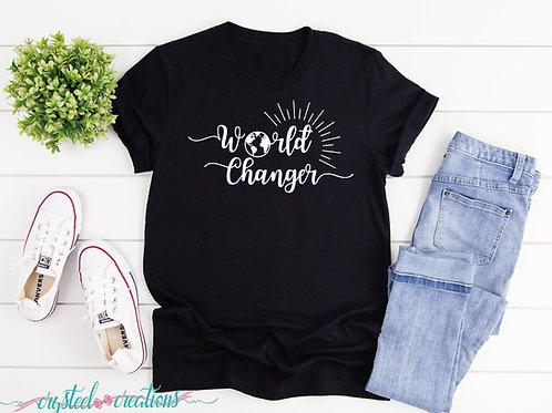 World Changer Short-Sleeve Unisex T-Shirt