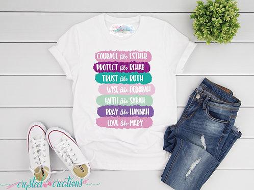 Courage like Esther Short-Sleeve Unisex T-Shirt