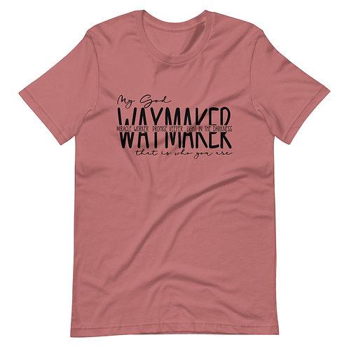 Waymaker Christian Short-Sleeve Unisex T-Shirt