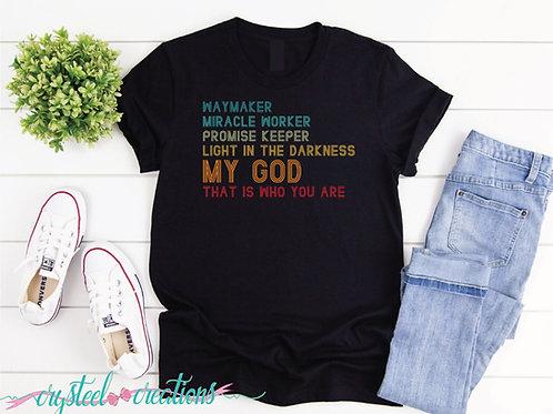 Waymaker Retro Short-Sleeve Unisex T-Shirt