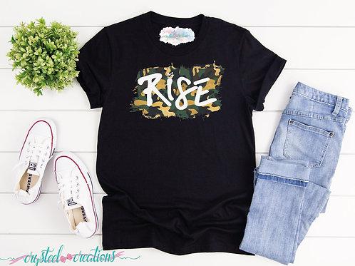 Rise Camouflage Short-Sleeve Unisex T-Shirt