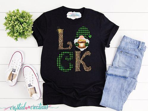 Luck Gnome Short-Sleeve Unisex T-Shirt