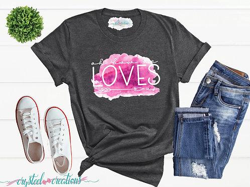 Oh How He Loves Us Short-Sleeve Unisex T-Shirt