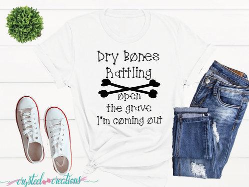 Dry Bones Rattling Short-Sleeve Unisex T-Shirt
