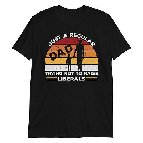 Just a Regular Dad Short-Sleeve Unisex T-Shirt