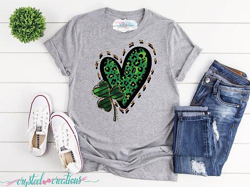 Heart Clover Short-Sleeve Unisex T-Shirt