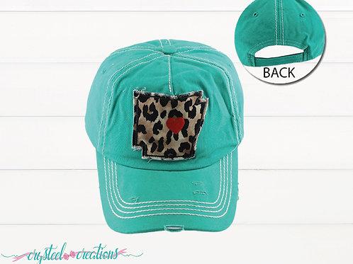 Arkansas Turquoise Hat