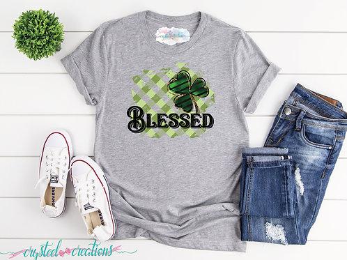 Blessed Clover Short-Sleeve Unisex T-Shirt