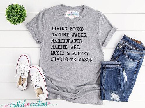 Charlotte Mason Short-Sleeve Unisex T-Shirt