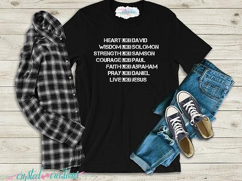 Heart Like David Short-Sleeve Unisex T-Shirt