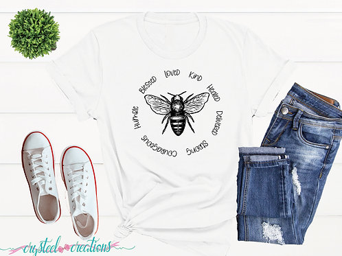 Bee Words Short-Sleeve Unisex T-Shirt