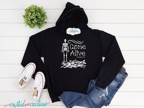 Come Alive Bones Unisex Hoodie