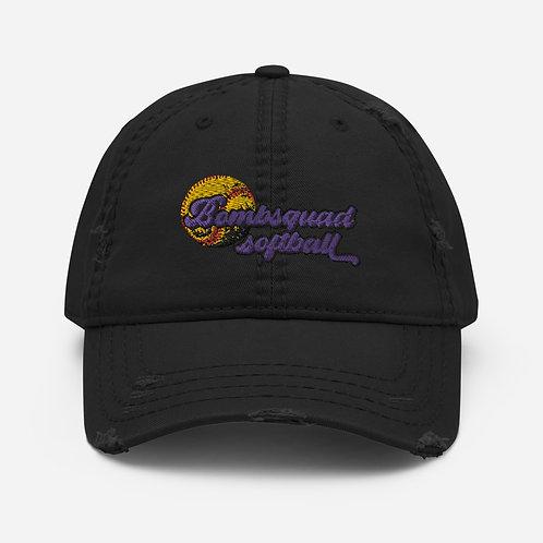Distressed Bombsquad Softball Hat