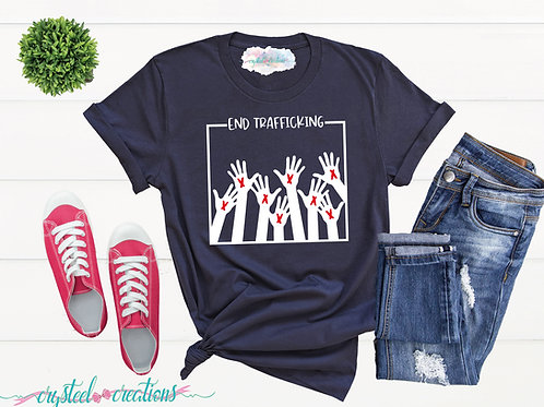 End Trafficking Short-Sleeve Unisex T-Shirt
